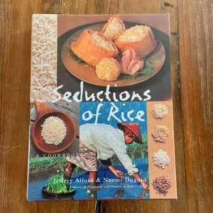 Seductions of Rice: A Cookbook Hardcover 1998 NWOT